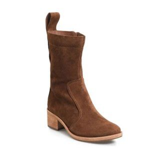 KORK-EASE Jewel Brown Suede Leather Ankle Boots